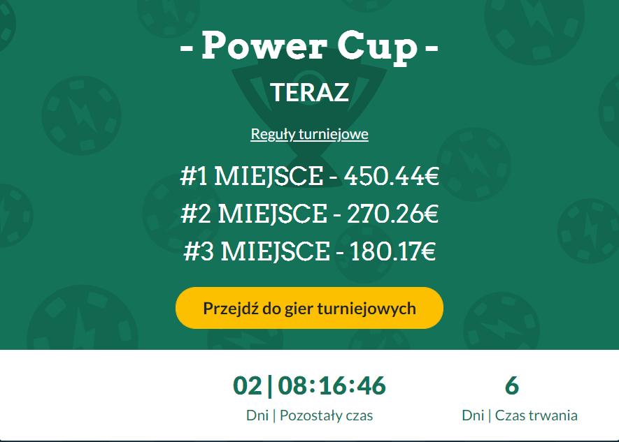 Power Casino-Turniere