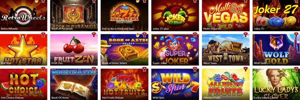 Power-Casino-Spielautomaten